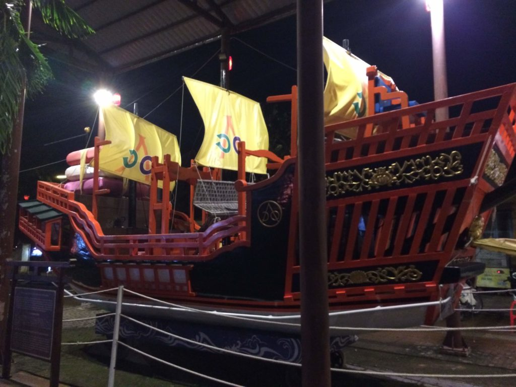 Remade ship used for trading in 16-17 centuries between Hoian and Nagasaki