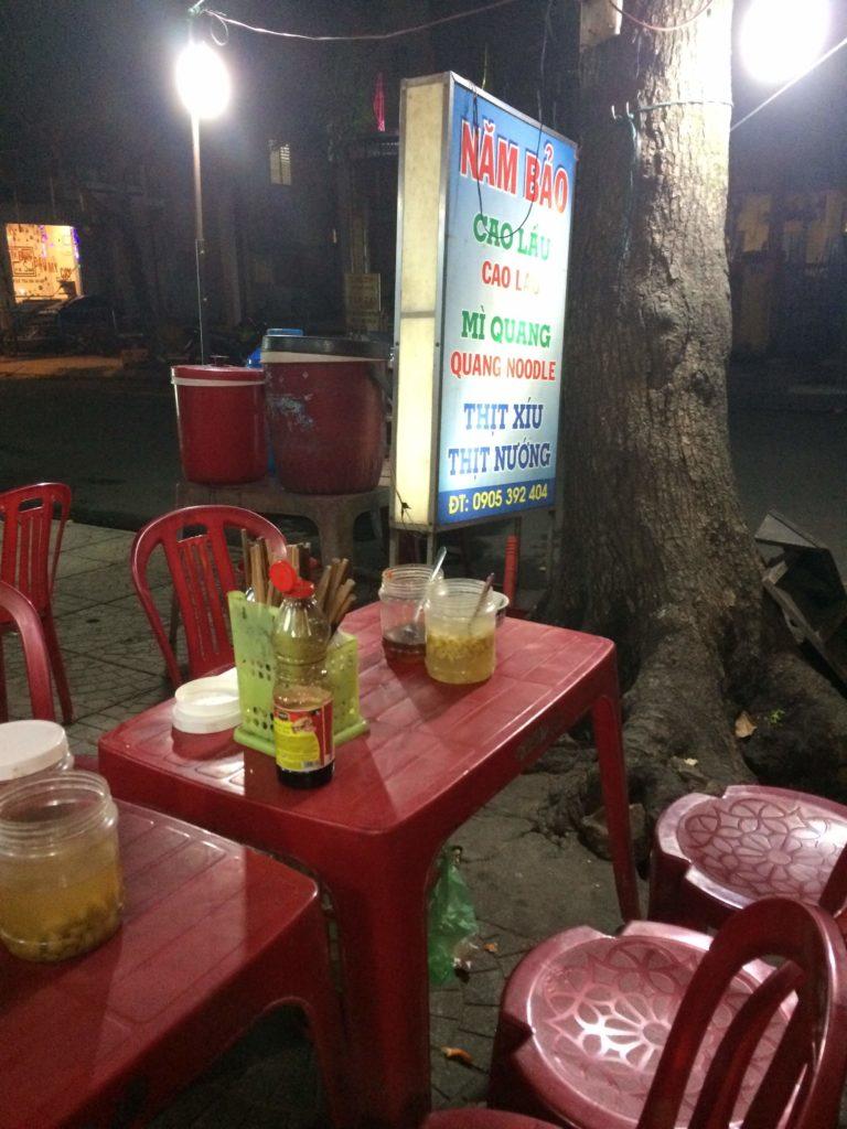 Dinner in Hoian