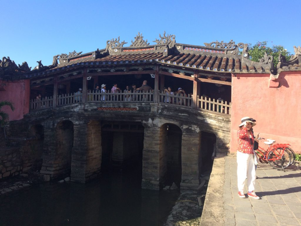 Japanese bridge in Hoian