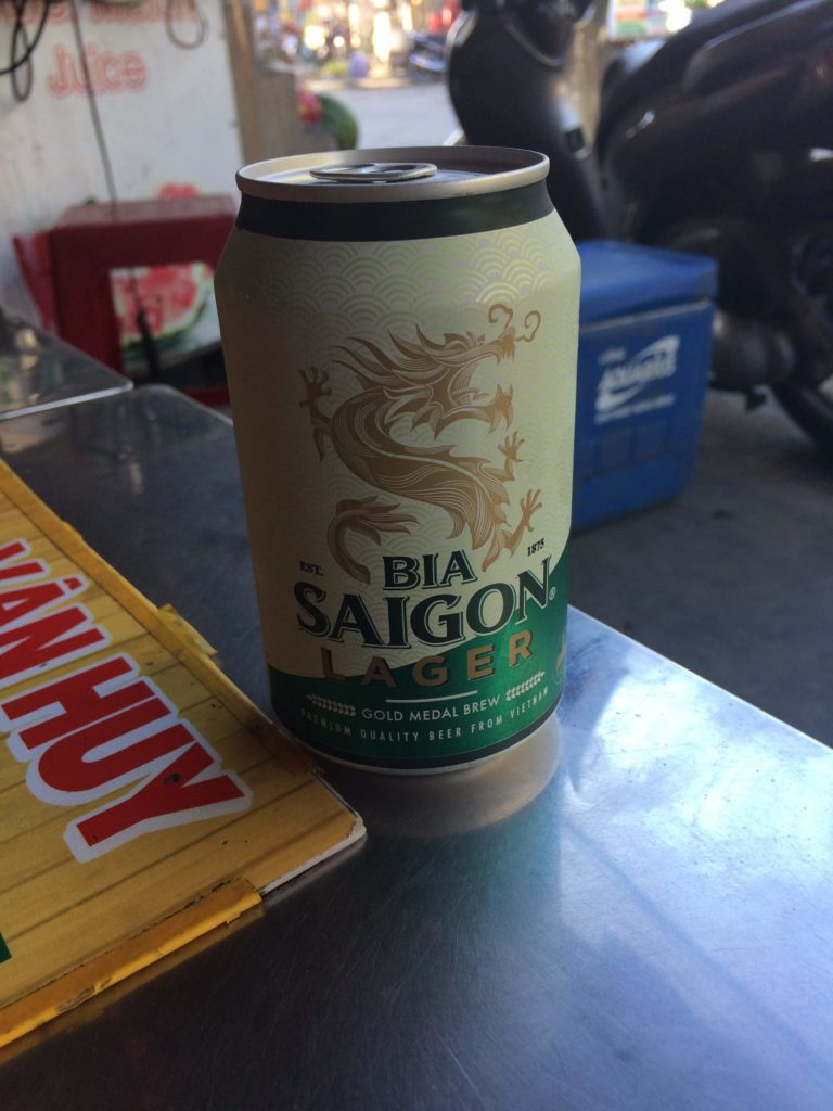 SAIGON beer in Hoian