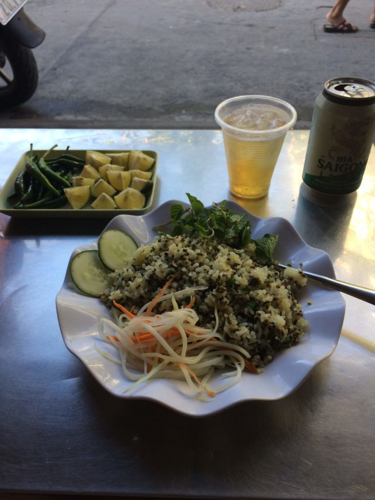 Rice and beer in Hoian