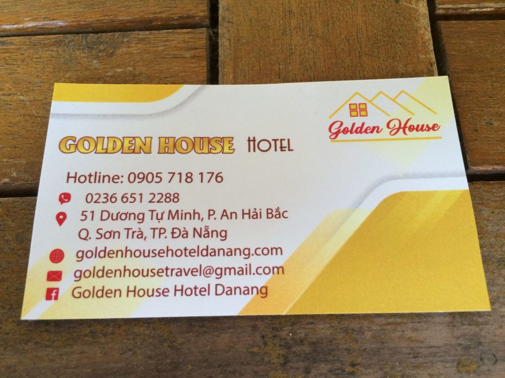 Danang hotel, Golden House Hotel