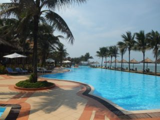 Resort hotel in Danang