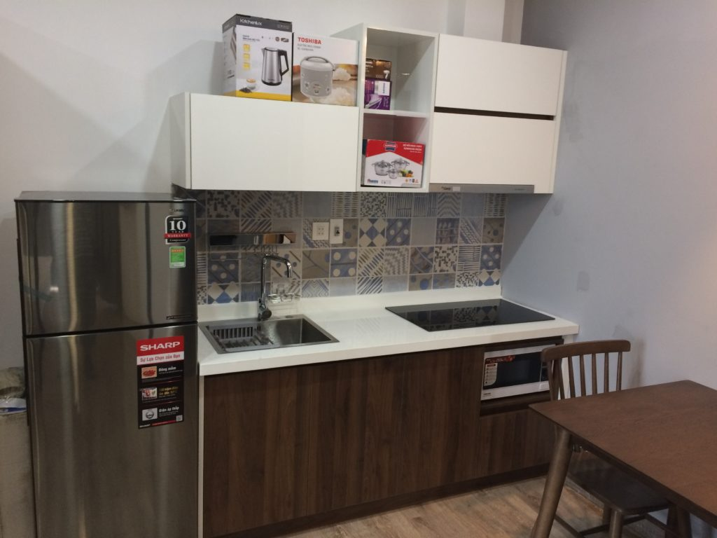Bella Apartment in Danang, room for $400, kitchen