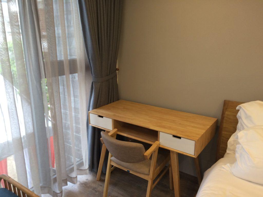 Bella Apartment in Danang, room 201, desk