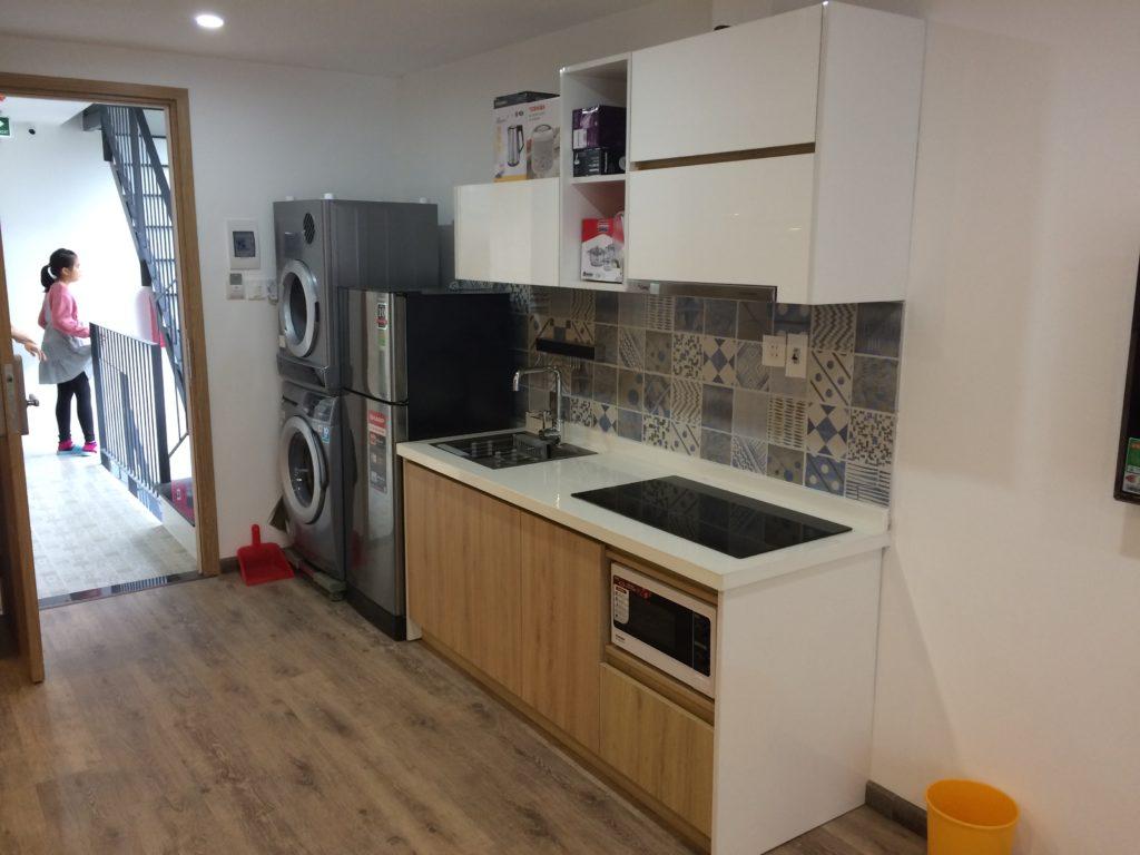 Bella Apartment in Danang, room 201, kitchen