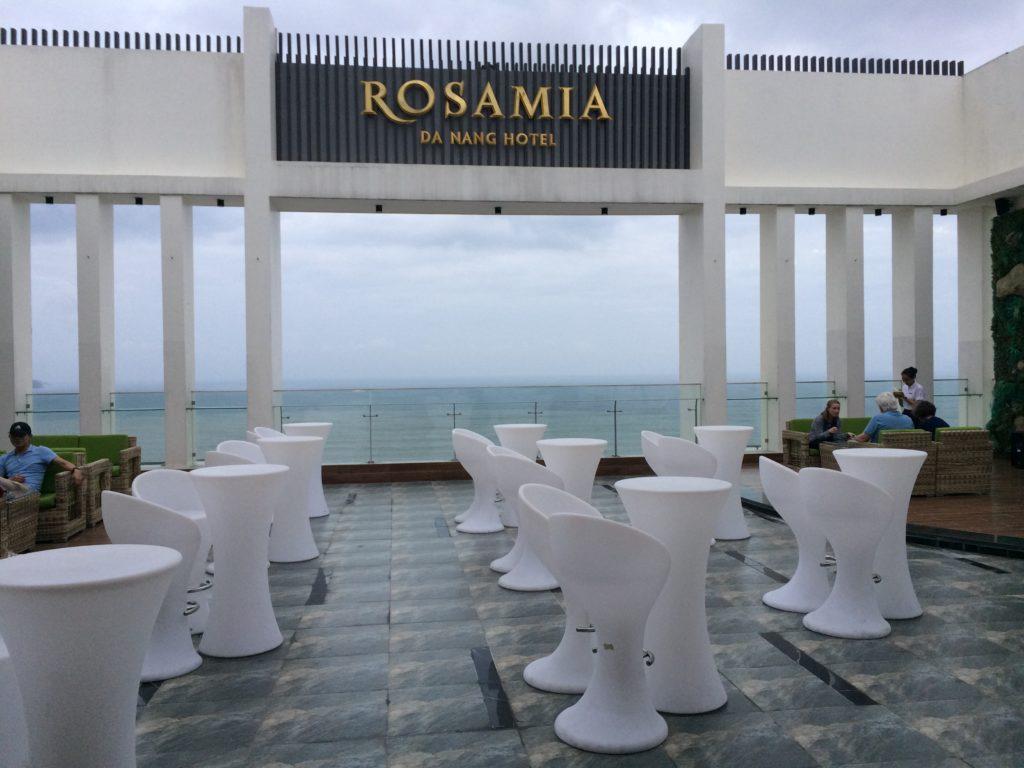 SKY BAR at ROSAMIA HOTEL in Danang