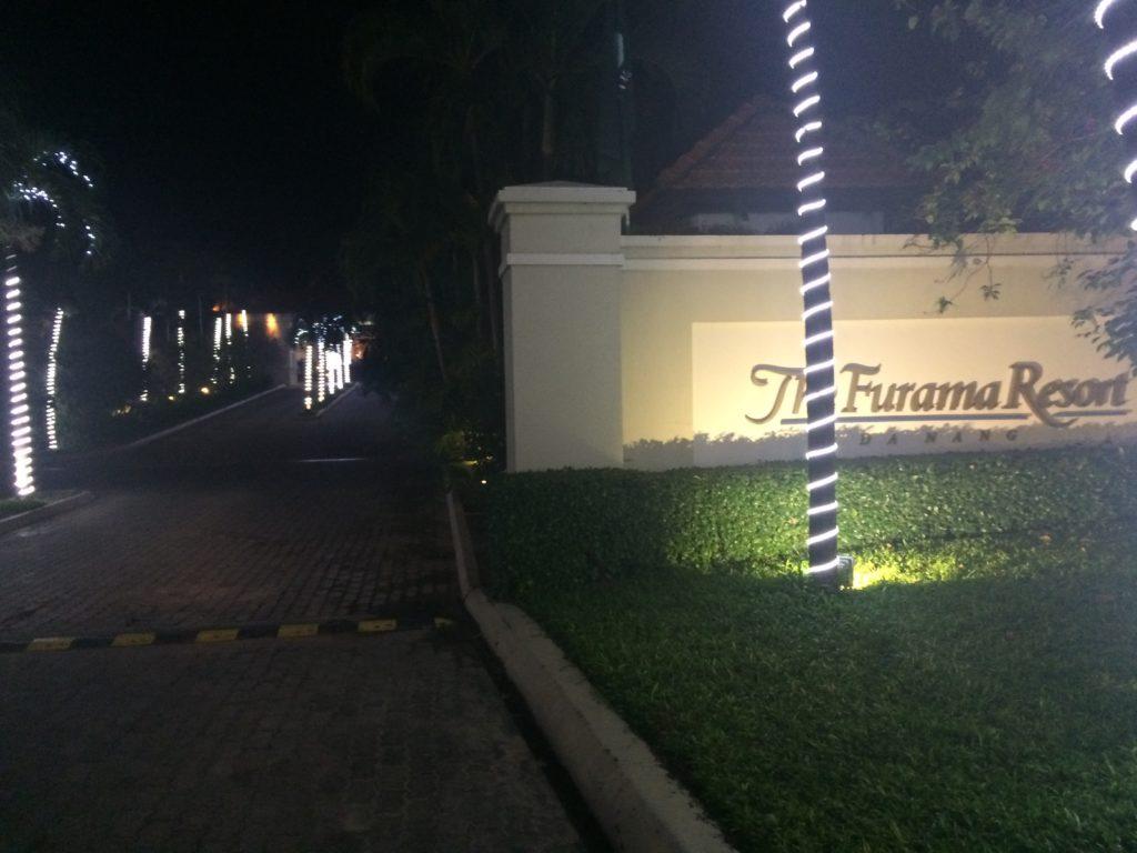 The Frama Resort, entrance