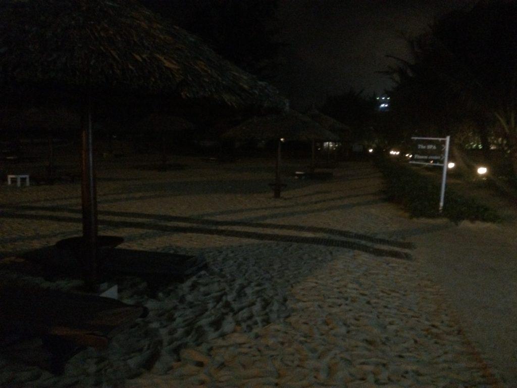 The Frama Resort, beach