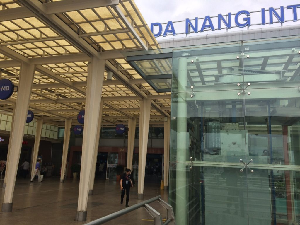 Danang airport, Vietnam